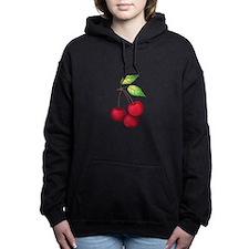 CHERRIES Women's Hooded Sweatshirt