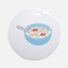 Cereal Bowl Ornament (Round)
