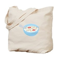 Cereal Bowl Tote Bag
