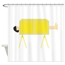 Magic Trick Shower Curtain