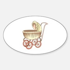 OLD BABY CARRIAGE Decal