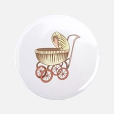 OLD BABY CARRIAGE Button