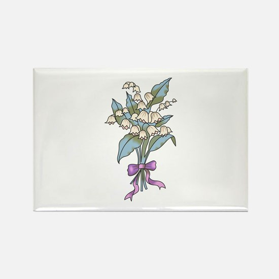 WINTER SNOWBELL FLOWERS Magnets