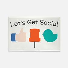 Let's Get Social Magnets