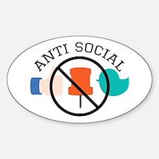 Anti Social Decal