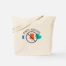 Anti Social Tote Bag