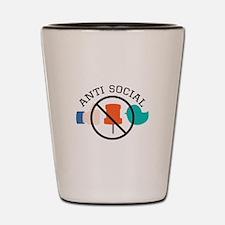Anti Social Shot Glass