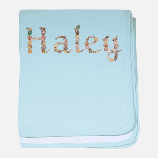 Haley Seashells baby blanket
