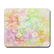 Daisy field Mousepad