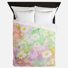 Daisy field Queen Duvet