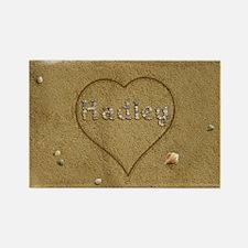 Hadley Beach Love Rectangle Magnet