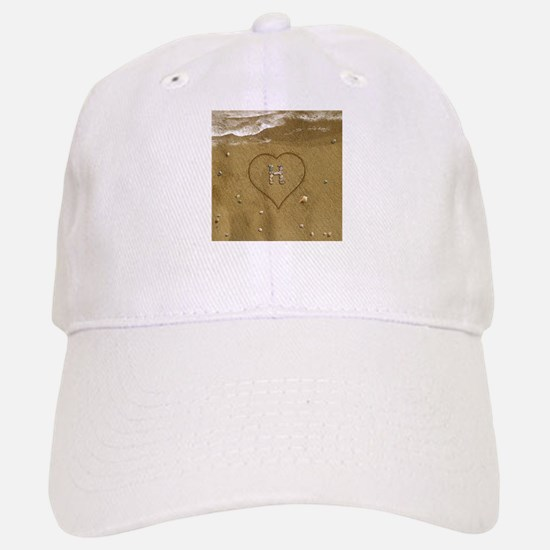 H Beach Love Baseball Baseball Cap