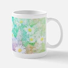 Watercolor daisies Mugs