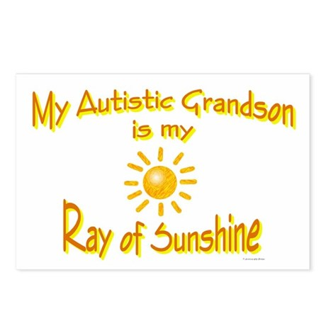 Ray Of Sunshine (Grandson) Postcards (Package of 8