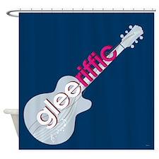 Glee Guitar Shower Curtain