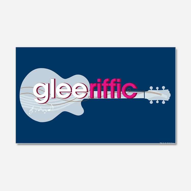 Glee Guitar Wall Decal