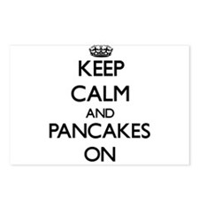 Keep Calm and Pancakes ON Postcards (Package of 8)