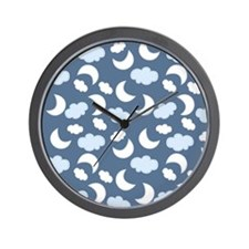 Brocade Night Wall Clock