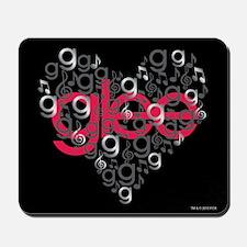 Glee Heart Mousepad
