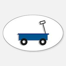 Blue Wagon Decal