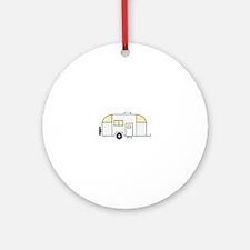 Travel Trailer Ornament (Round)