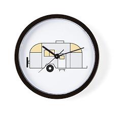Travel Trailer Wall Clock