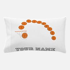 Basketball Balls And Net Pillow Case
