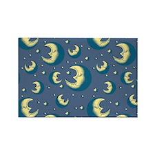 Lunar Dream Rectangle Magnet