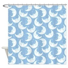 Lunar Faces Shower Curtain