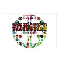 Peace Sign - World Peace Postcards (Package of 8)