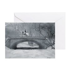 Dressage Winter Pirouette Greeting Cards (20)