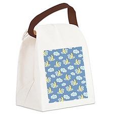 Sleeping Moon Canvas Lunch Bag