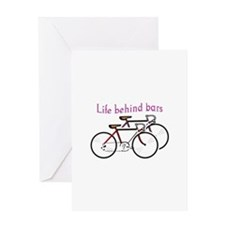 LIFE BEHIND BARS Greeting Cards