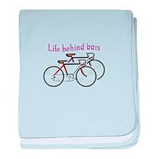 LIFE BEHIND BARS baby blanket