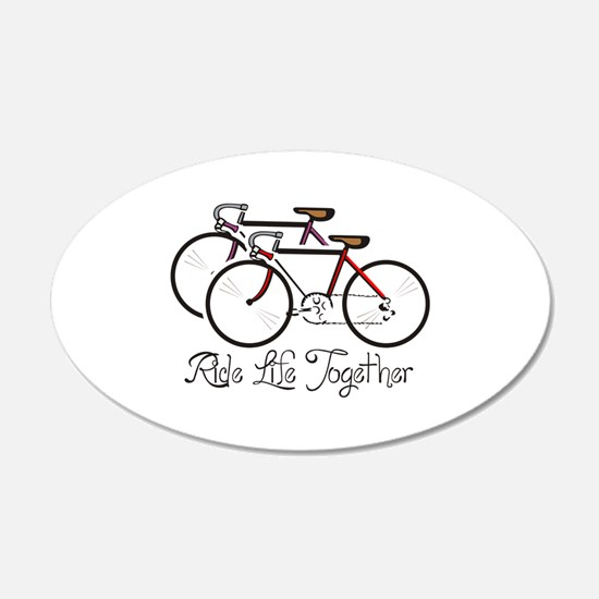 RIDE LIFE TOGETHER Wall Decal