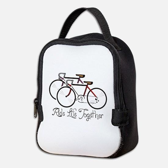 RIDE LIFE TOGETHER Neoprene Lunch Bag
