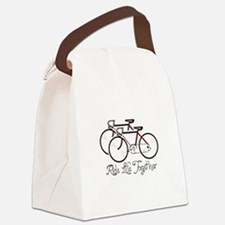 RIDE LIFE TOGETHER Canvas Lunch Bag