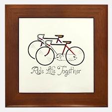 RIDE LIFE TOGETHER Framed Tile
