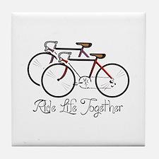 RIDE LIFE TOGETHER Tile Coaster