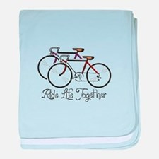RIDE LIFE TOGETHER baby blanket