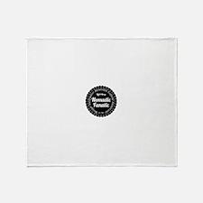 TNF-logo-FB Throw Blanket