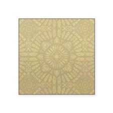 "Pale Wood Square Sticker 3"" x 3"""