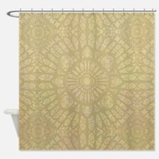 Pale Wood Shower Curtain