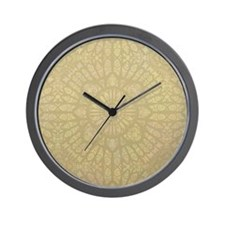 Pale Wood Wall Clock