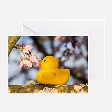 Petal Shower Greeting Card