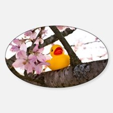 Ducky Blossoms Decal