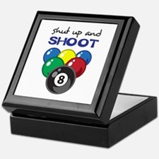 SHUT UP AND SHOOT Keepsake Box