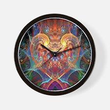An Energetic Heart Wall Clock