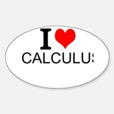 I Love Calculus Decal
