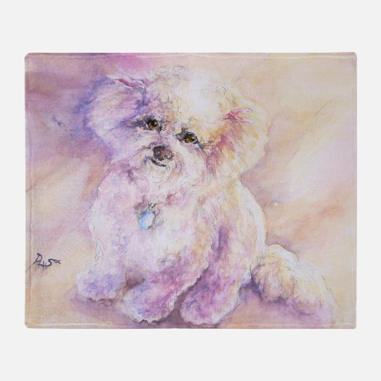 Cute Animal dog Throw Blanket